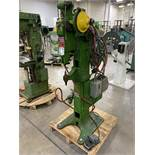 RIVITOR R Rivet Machine, s/n 1035, w/ Touch-O-Matic 500-2-02 Safety Device