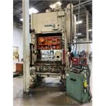 "MINSTER P2-150-54 Straight Side Press, s/n P2-150-19233, 150 Ton Capacity, 54""x 40"" Bed, 20"" Shut"