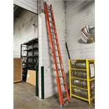 WERNER 32' Fiberglass Extension Ladder