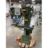 "SNOW TA-3RM-S Mill, s/n M4086-679, 3/4 HP 10.5"" x 25.5"" Table, 8"" Throat"