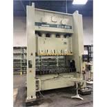 "2003 KOMATSU E2W 300 Straight Side Press, s/n 10047, 300 Ton Capacity, 20-40 SPM, 11.81"" Stroke,"