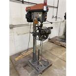 RIDGID DP15501 Drill Press, s/n AM062152880, w/ Heinrich Pneumatic Vise