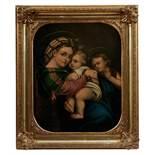 Raffaello Sanzio da Urbino - Kopie des 19. nach