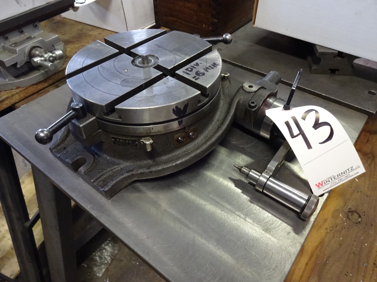 Lot 43 - COLEX 8 IN ROTARY TABLE