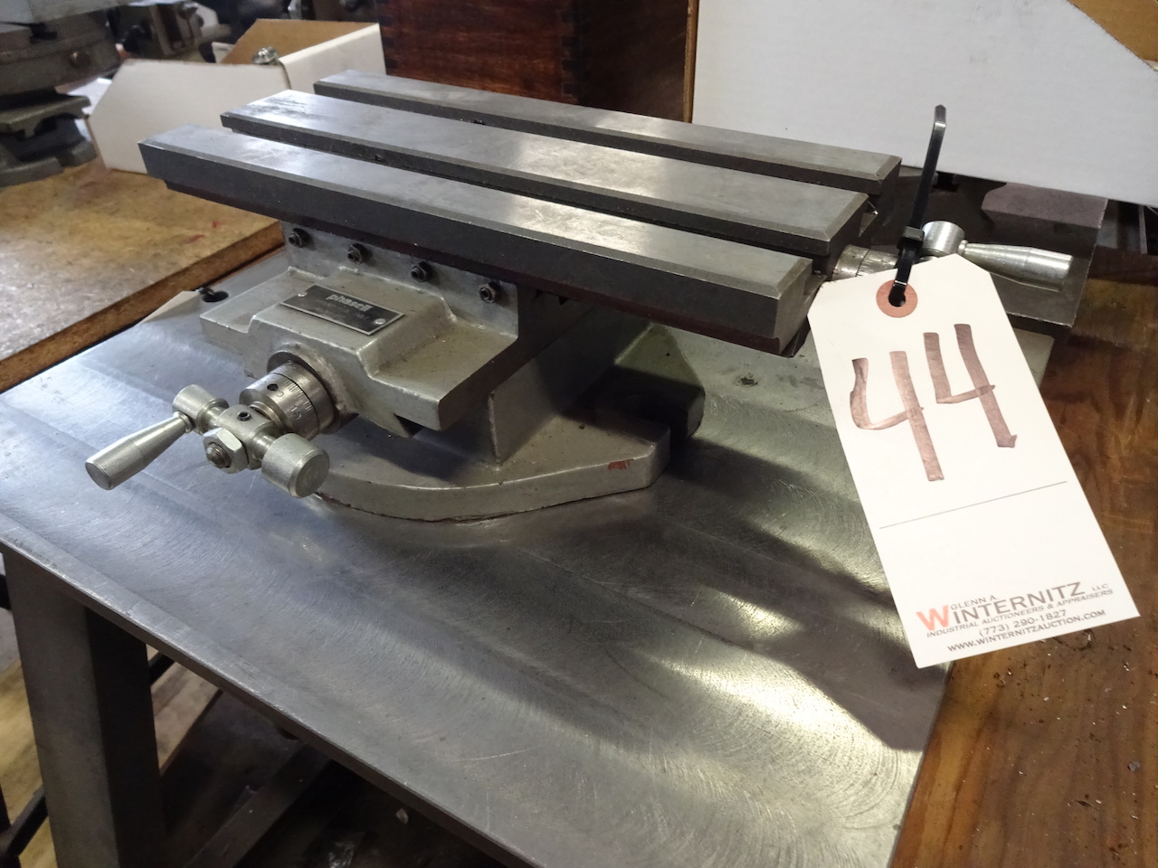 Lot 44 - PHASE II NO. 260-512 12-1/4 IN X 5-3/4 IN COMPOUND SLIDE TABLE