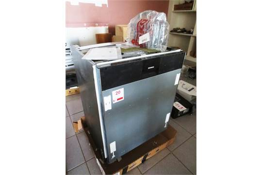 siemens sd6p1s integral dishwasher serial no sx778d00tg 03 240v rh i bidder com Siemens Washing Machine Manual Siemens Washing Machine Manual