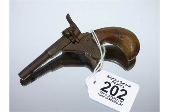 FLOBERT STYLE 19th CENTURY PERCUSSION CAP STARTER PISTOL