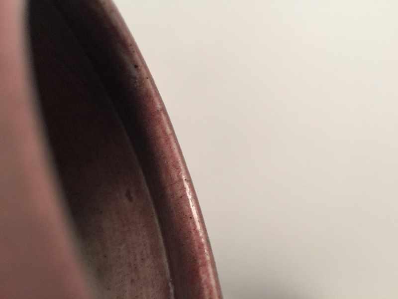 WASSERGEFÄSSGlasiertes Steingut. China, Qing-Dynastie, ca 19. Jh. Wirkungsvolle Glasur mit - Image 7 of 7