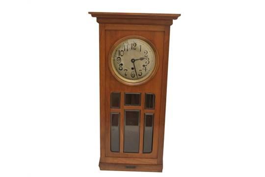 Orologio a pendolo M.Coli Bologna cm.30x78, primi\'900
