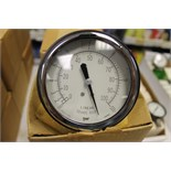 "LOT OF UNUSED PRESSURE GAUGES, PRESSURE GAUGES, (Approx. 14)  MARSHALLTOWN, 3.5"" 88B, 3/15 PSI, 1/4"""