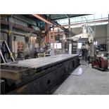 "OPEN SIDE PLANER, ROCKFORD 60"" X 217"", 60"" x 217"" table, (2) airlift rail heads, (1) airlift side"