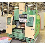 "CNC VERTICAL MACHINING CENTER, MORI SEIKI MDL. MV40, Fanuc 10M CNC control, 18"" x 43"" table, 31.5"""