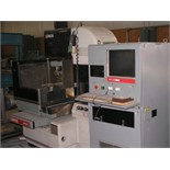 "WIRE EDM MACHINE, JAPAX MDL. LDM-35, new 1989, 10"" x 12"" x 12"" approx. cap., Dielectric coolant"