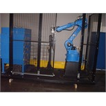 UNUSED CNC ROBOT ARM, YASKAWA MOTOMAN 6-AXIS MDL. HP20D, 20 kg. payload 1,717 mm hz. reach, 3,063 mm