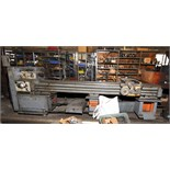 "GAP BED ENGINE LATHE, MAZAK 18"" X 80"" REX , 18"" sw. over bed, 80"" dist. btn. centers, spds: 25-"