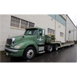 TRUCK TRACTOR, FREIGHTLINER, new 2002, sgl. axle, ISM 330 engine, 400 HP, lift axle w/super singles,