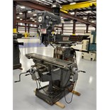 VERTICAL MILL, LAGUN MDL. FTV-2, 10 x 50 table, pwr. feed on table & feed, R8 spdl., Kool Mist,