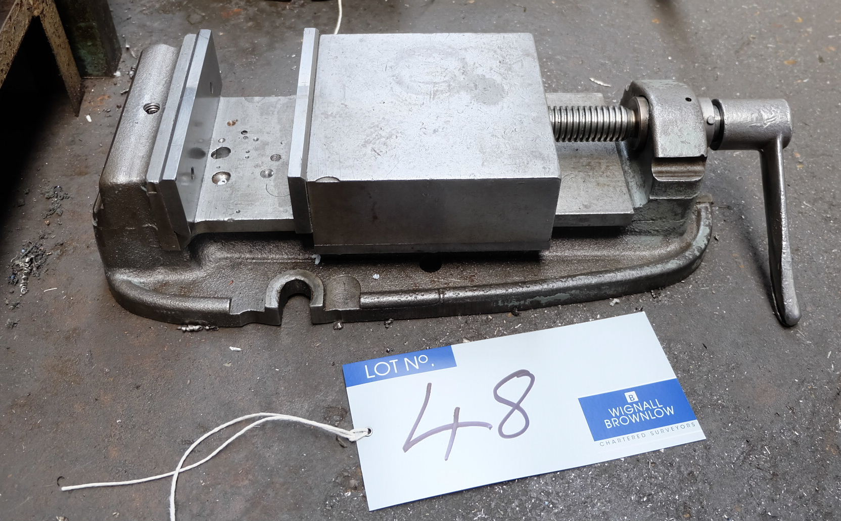 Lot 48 - A 6in Machine Vice.