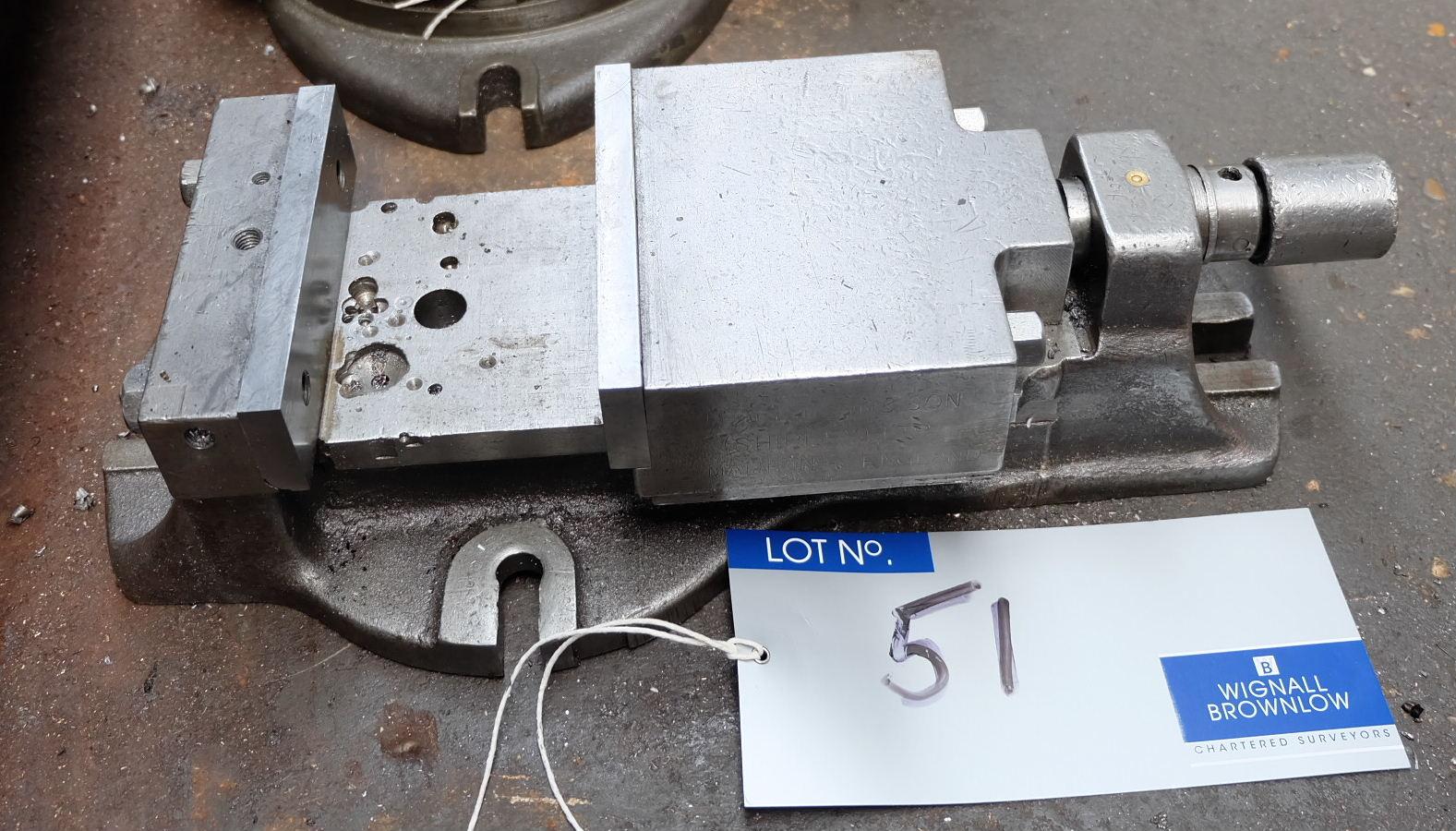 Lot 51 - A 6in Machine Vice.