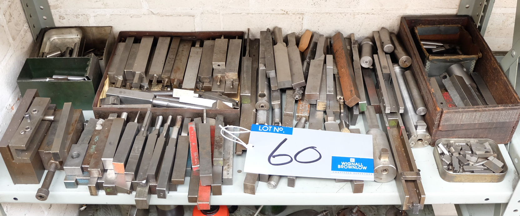 Lot 60 - Miscellaneous Lathe, Boring and Slotting Tools.