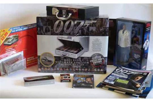 James bond ultimate edition volume 1 complete 5 movie 10-disc box.