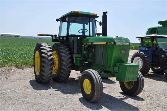 John Deere 4255 tractor, 7331 hrs, 15-speed powershift, 3 pt