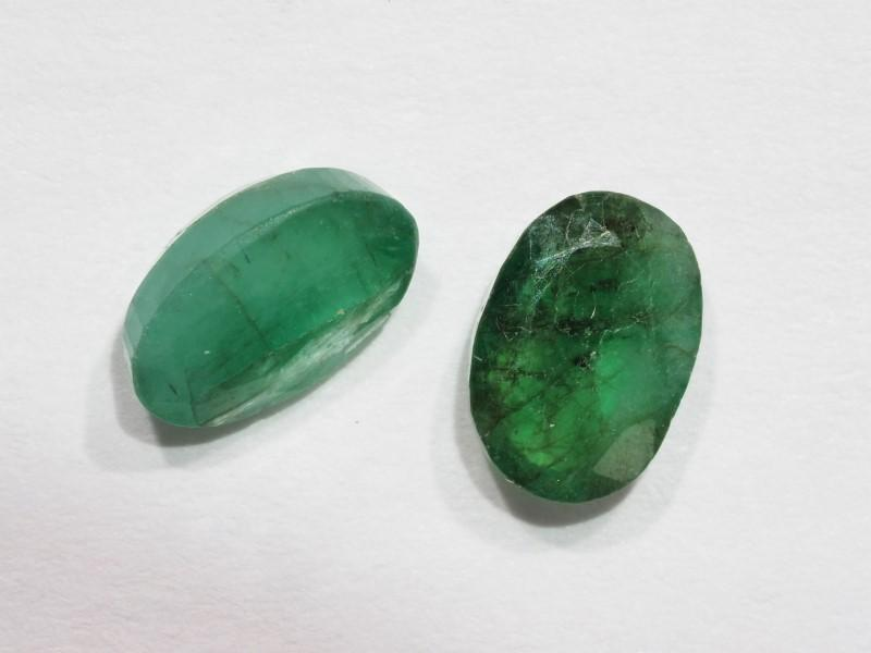 Lot 40 - Genuine Emerald Gemstone (App2ct) ( May Birthstone), Retail $200 (MS19 - 40)