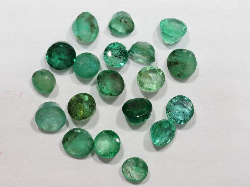 Lot 18 - Genuine Emerald Gemstone(App 2ct) ( May Birthstone), Retail $200 (MS19 - 18)