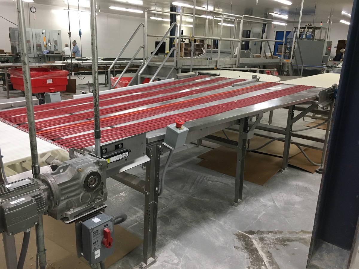 Lot 1B - 2013 Dual Lane Banjo Conveyor, 53in Wide at Inlet, 80in Wide at Discha | Insp by Appt | Rig Fee: 200