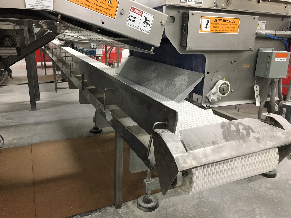 Lot 1G - 2013 SpanTech Conveyor for Product Reject, 15.5in Belt x 26ft OAL | Insp by Appt | Rig Fee: 250