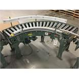2013 Hytrol 90Deg Roller Conveyor, 12in Rollers | Insp by Appt | Rig Fee: 50