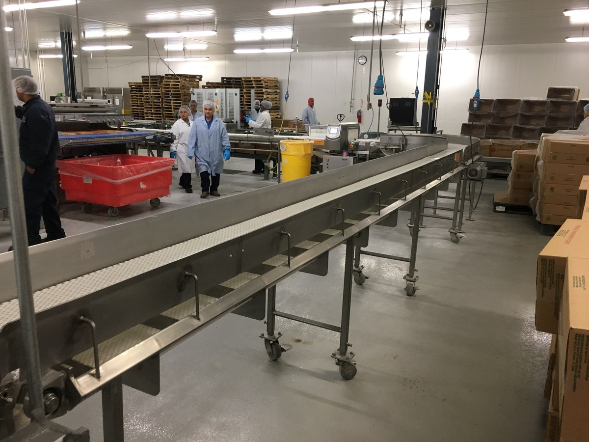 2013 Intralox Conveyors, Approx 80 ft Overall Length, 15.5in W Belt, (   Insp by Appt   Rig Fee: 750 - Image 5 of 10