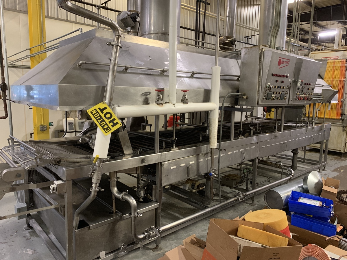 Lot 16 - Moline Gas Fired Fryer Model GF20-10L, Onboard Controls, Fire Su | Subject to Bulk | Rig Fee: 2500