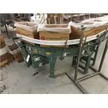 2013 Hytrol 90Deg Roller Conveyor, 12in Rollers, S/N: 611257 | Insp by Appt | Rig Fee: 50