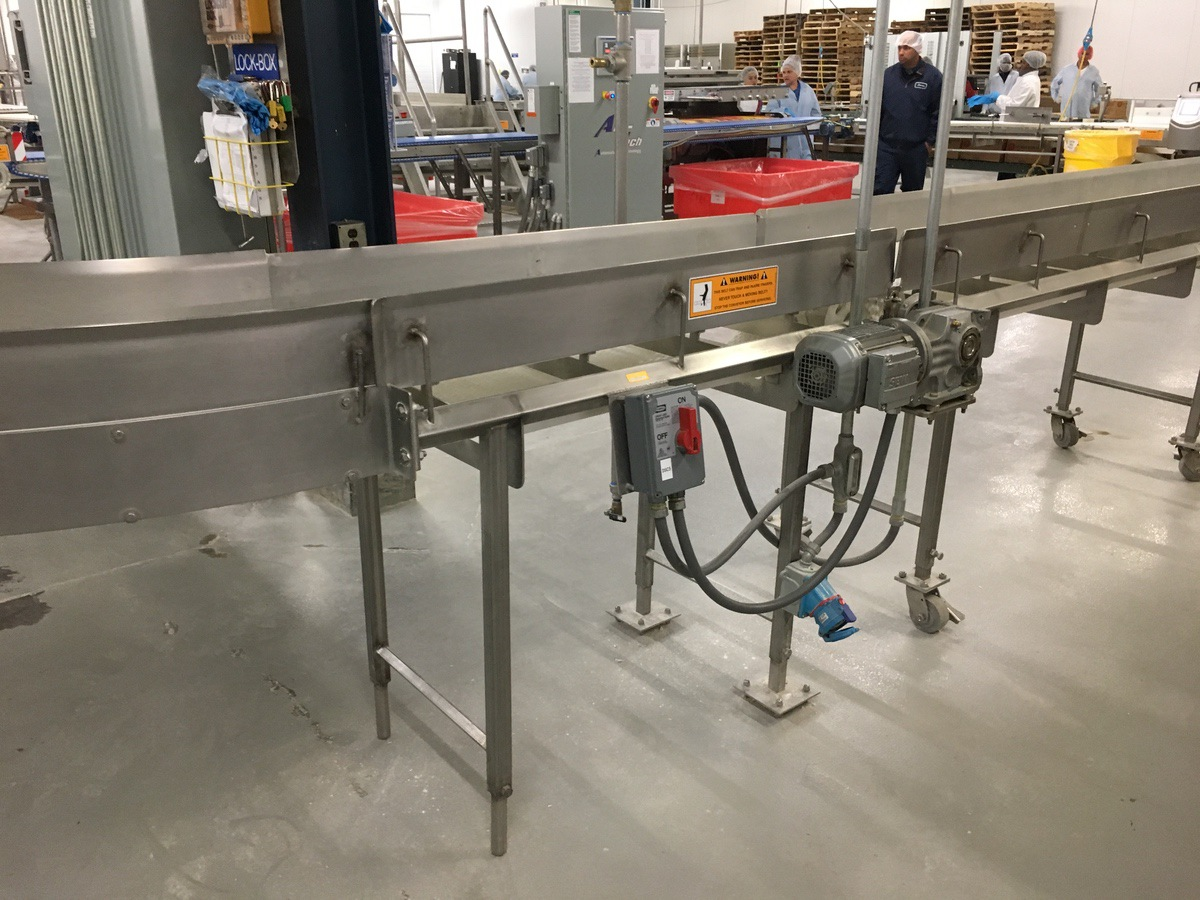 2013 Intralox Conveyors, Approx 80 ft Overall Length, 15.5in W Belt, (   Insp by Appt   Rig Fee: 750 - Image 4 of 10