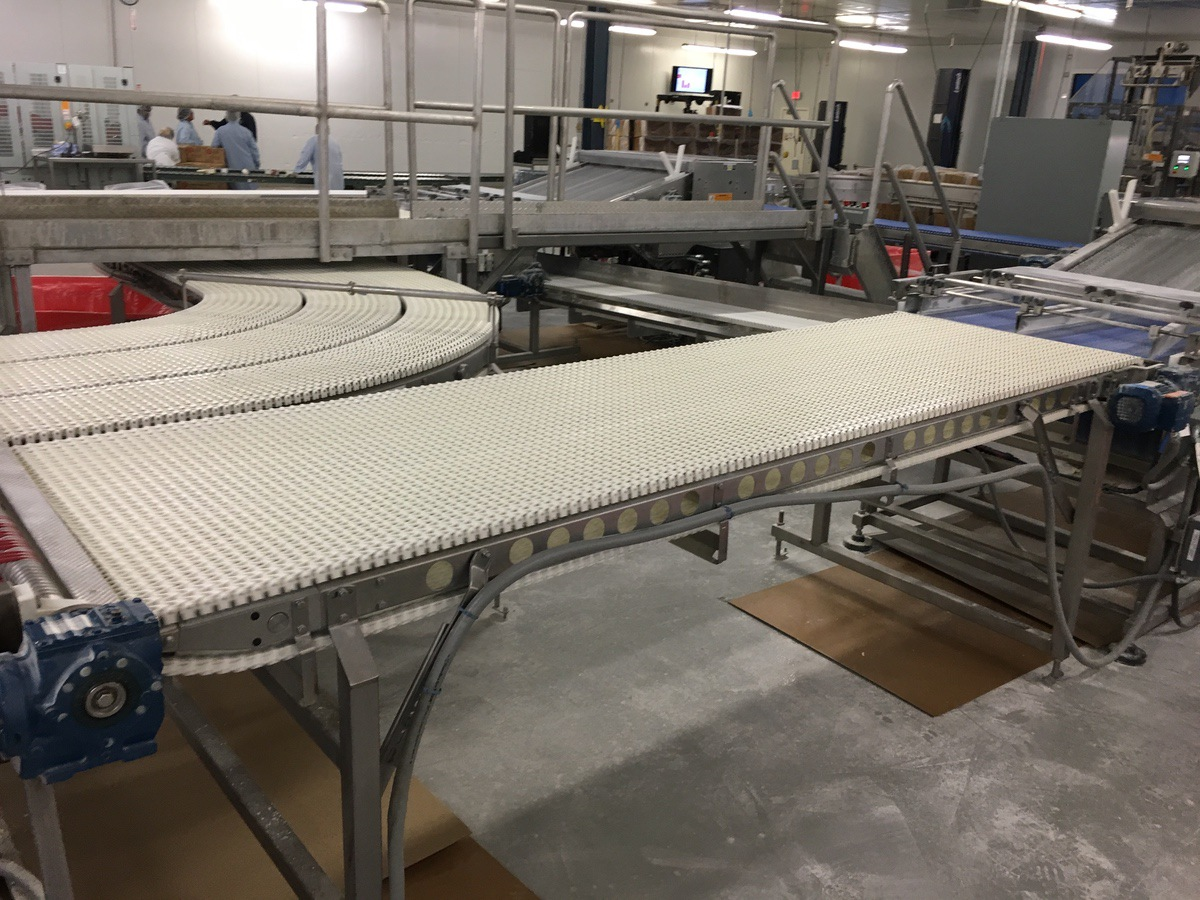 Lot 1D - 2013 SpanTech Conveyor, Stainless Steel Frame, 36in Wide Belt, 126in O | Insp by Appt | Rig Fee: 125