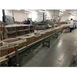 2013 Hytrol Powered Belt Conveyor, 14in W Belt, 25ft Length | Insp by Appt | Rig Fee: 175