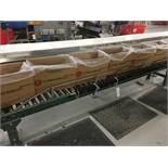 2013 Hytrol Manual Roller Conveyor, 13in Rollers, 25ft Length | Insp by Appt | Rig Fee: 175