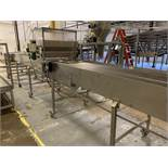 """Cooling Conveyor with Depositor , 37"""" Wide Belt with 3.5"""" Clearance Under Dry Depos 