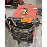 LINCOLN ELECTRIC SQUARE WAVE TIG 275 TIG WELDER WITH CABLES & GUN, S/N: U1980705443 [RIGGING FEES