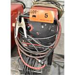 LINCOLN ELECTRIC SQUARE WAVE TIG 175 PRO TIG WELDER WITH CABLES & GUN, S/N: U1020709653 [RIGGING