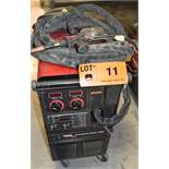 LINCOLN ELECTRIC POWER MIG 300 PORTABLE MIG WELDER WITH CABLES & GUN, S/N: U1031100735 [RIGGING FEES
