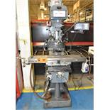 "KING INDUSTRIES (2006) 942VS VERTICAL MILLING MACHINE WITH 42""X9"" TABLE, SPEEDS TO 4200 RPM, 3 HP,"