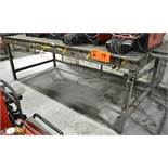 STEEL WELDING TABLE (DELAYED DELIVERY) [RIGGING FEES FOR LOT #19 - $25 USD PLUS APPLICABLE TAXES]