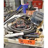 LOT/ WELDING ACCESSORIES - LINCOLN ELECTRIC TIG PULSER, MIG GUNS, WATER COOLED MIG GUN, HOSES,