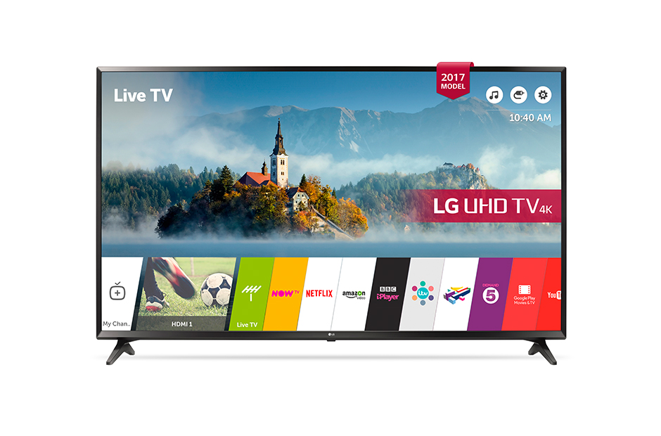 Lotto 30036 - V Grade A LG 55 Inch ACTIVE HDR 4K ULTRA HD LED SMART TV WITH FREEVIEW HD & WEBOS 3.5 & WIFI