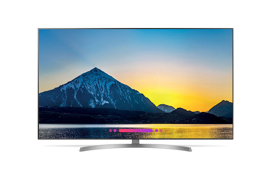 Lotto 30007 - V Grade A LG 55 Inch FLAT OLED ACTIVE HDR 4K UHD SMART TV WITH FREEVIEW HD & WEBOS 4.0 & WIFI - AI
