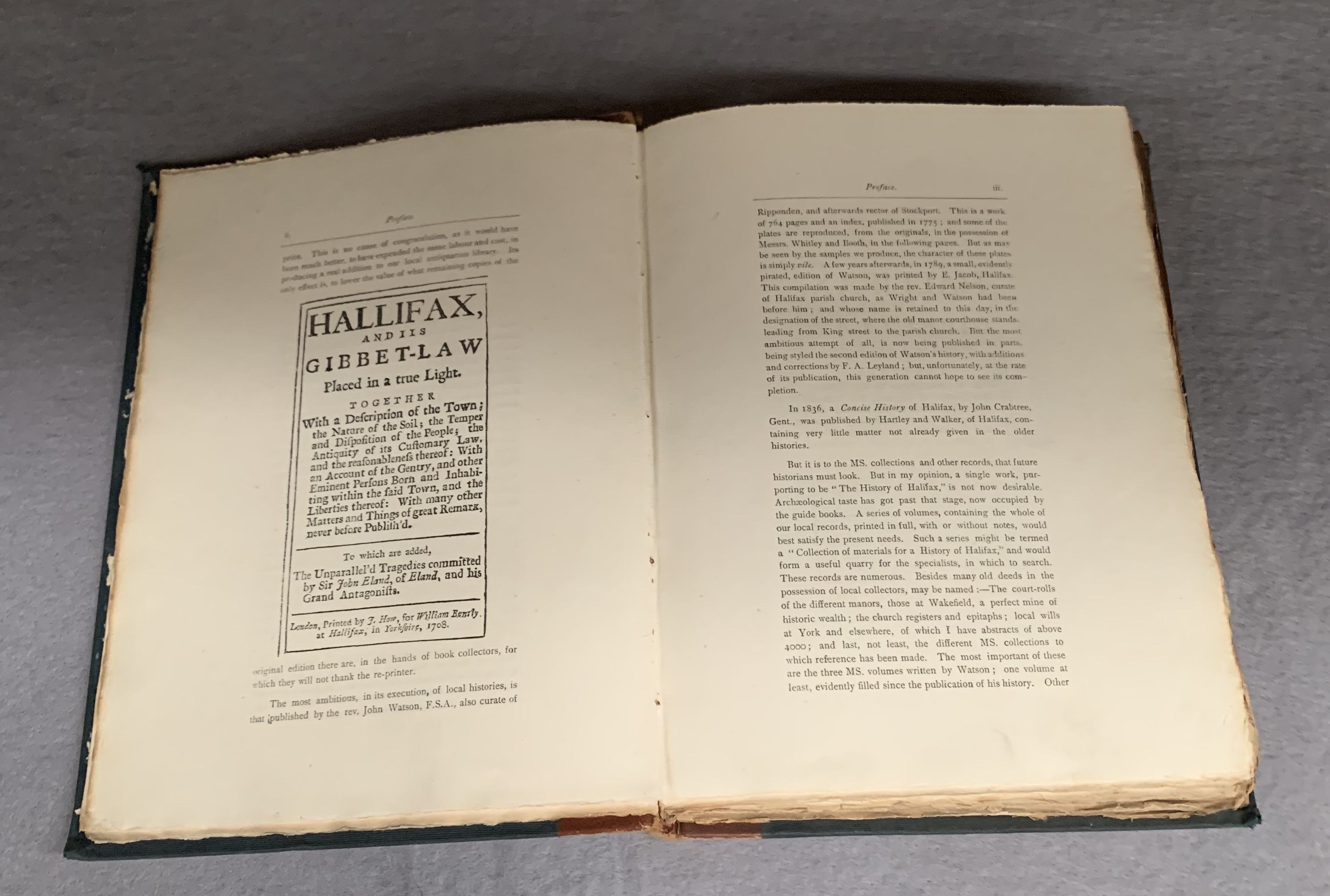 Walter James Walker chapters on The Early  Register of Halifax Parish Church from the local - Image 4 of 4