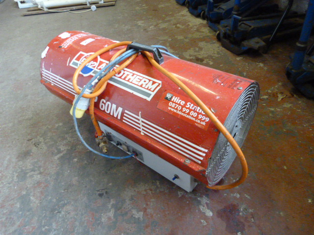 Lot 79 - *Arcotherm JP60M Industrial Fan Heater