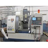 YCM-XV-1020A CNC VERTICAL MACHINING CENTER, 40''X20''X21'' TRAVELS,